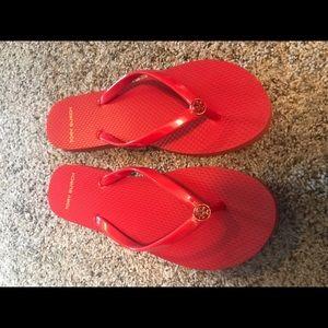 Tory Burch red flip flops